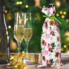 """Новогодний чехол для бутылки """"С Новым Счастьем!"""""""