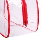 Сумка в роддом, цвет красный - фото 105543266
