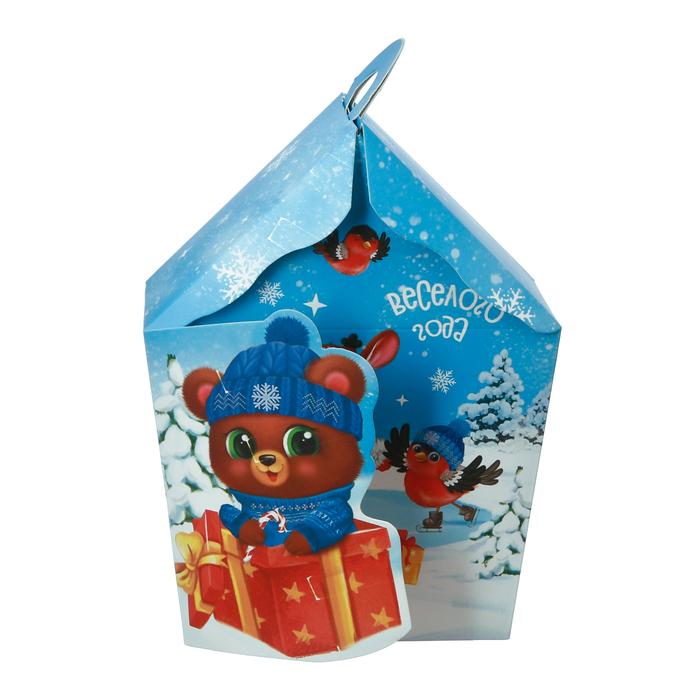 Складная коробка «Счастья в Новом году», 15 × 20 × 6 см
