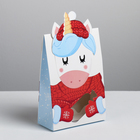 Коробка складная «Вкусный подарок», 15 × 7 × 22 см