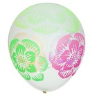 "Balloon latex 17"" ""Colors neon"", 1 piece color transparent"