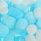 Наполнитель для шаров и слаймов «Пенопласт», 2 см, 20 г, цвет голубой МИКС - фото 105691247