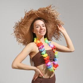Гавайское ожерелье «Цветок плюмерия»