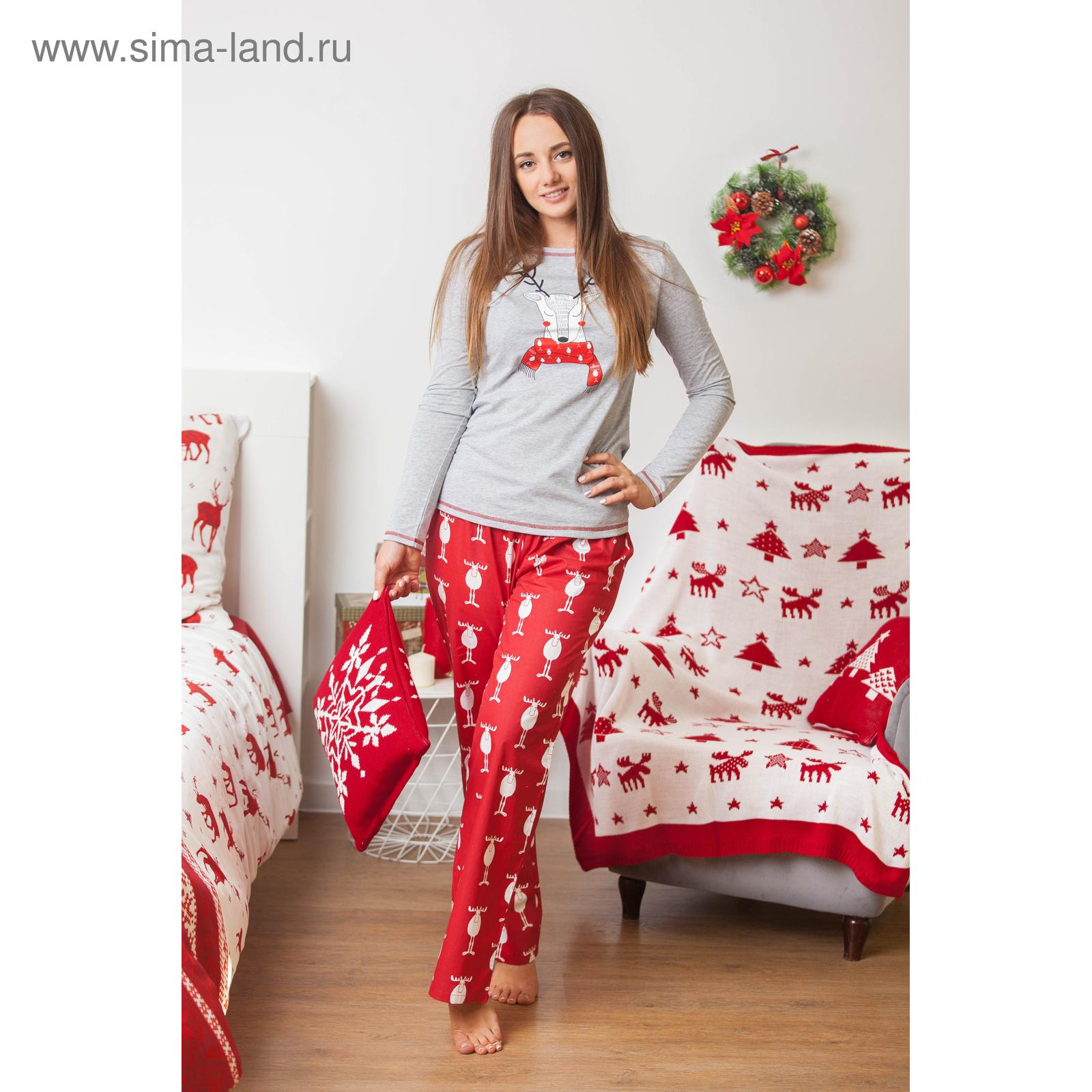 bc2a381187766 Пижама женская KAFTAN «Новогодняя», размер 40–42 (3596858) - Купить ...