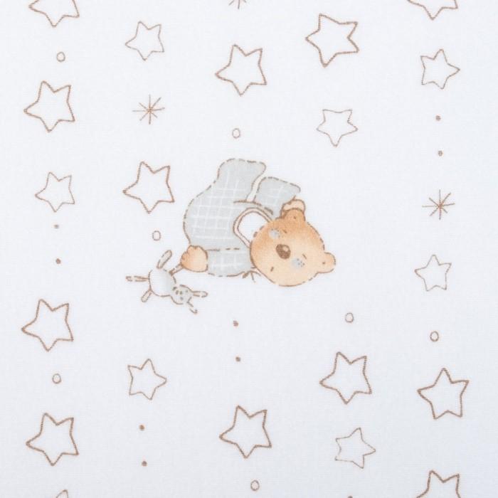 Фланель Спящий мишка 160 г/м2, ш. 150 см, дл. 10 м, 100% хлопок