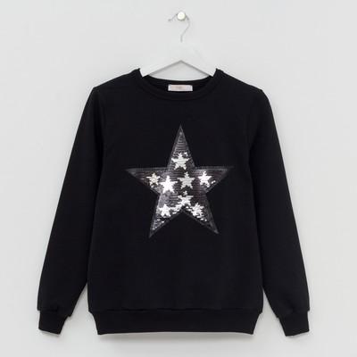 "Джемпер женский KAFTAN ""Star"", р-р 40-42, чёрный"