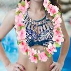 """Гавайское ожерелье """"Плюмерия розовая"""""""
