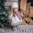 """Кукла интерьерная """"Малышка в сереньких валенках"""" 41 см"""