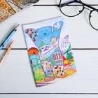 """Passport cover """"Yekaterinburg"""" (bear). 9.5 x 14 cm"""