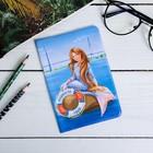 Обложка на паспорт «Владивосток» (русалка), 9,5 х 14 см