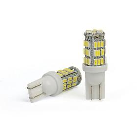 LED lamp KS, T10 (W2,1-9,5d), 12 V, white, 42 SMD diodes, used / base