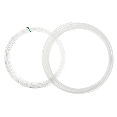 Plastic for 3D pen LuazON ABS-2 at 10 m, 2 colors set (white, natural)