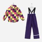Комплект (куртка и брюки), рост 92 см, цвет фиолетовый - фото 105563821