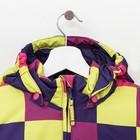Комплект (куртка и брюки), рост 92 см, цвет фиолетовый - фото 105563820