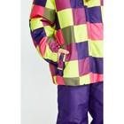 Комплект (куртка и брюки), рост 92 см, цвет фиолетовый - фото 105563826
