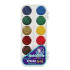 Акварель медовая 12 цветов Mattel Enchantimals, без кисти