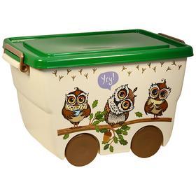 Ящик для игрушек «Деко: Совы», 23 л