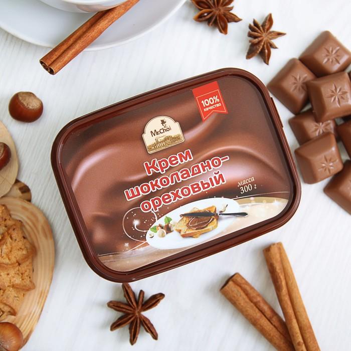 Крем шоколадно-ореховый 300 грамм