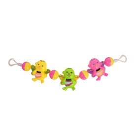 Растяжка на коляску/кроватку «Пчелки», 3 игрушки, цвет МИКС
