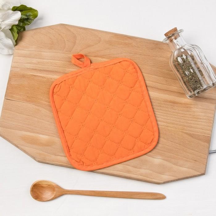Прихватка Collorista «Апельсин», 16 × 16 см, хлопок 50 %, п/э 50 %
