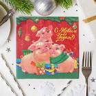 бумажные салфетки на Новый Год