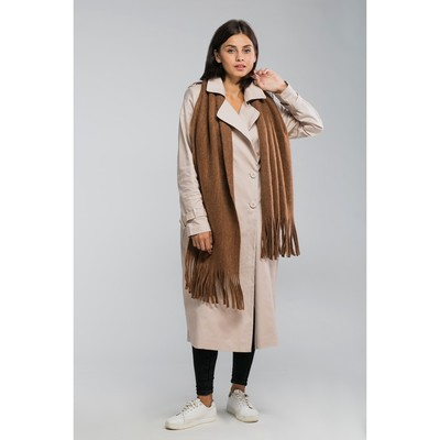 "Tippet women's MINAKU ""Astrid"", 45 x 200 cm, brown"