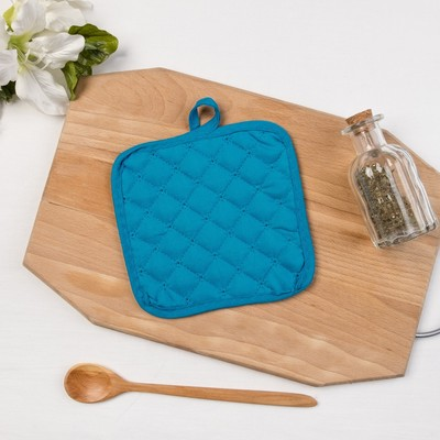 "Collorista potholder 16*16cm ""Blueberries"" 50% x/l,50% p/e"