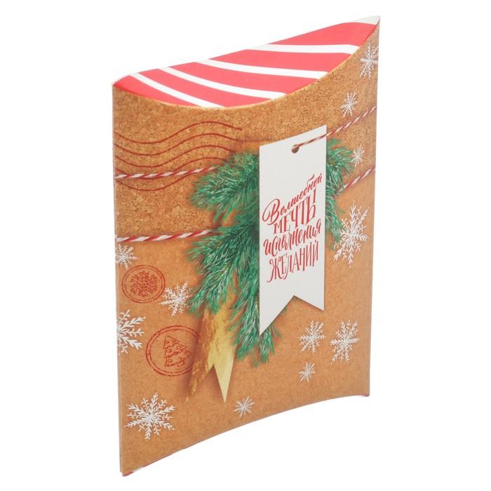 Коробка складная фигурная «Волшебной мечты», 19 × 14 × 4 см