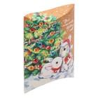 Коробка сборная фигурная «Все исполнит Новый год», 19 × 14 × 4 см
