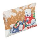 Коробка сборная фигурная «Медвежата с подарками», 19 × 14 × 4 см