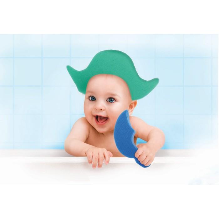 Развивающие детские губки/игрушки «Пират», набор 3 шт., МИКС