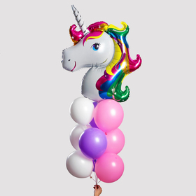 "Fountain of the balls ""My unicorn"", set of 10 PCs"