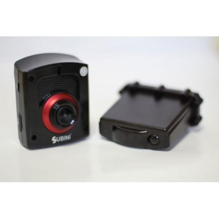 """Видеорегистратор + радар-детектор Subini STR 825RU, 2.5"""", обзор 120°, 1920x1080"""