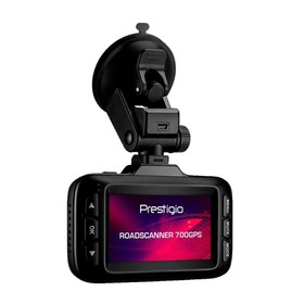 """Видеорегистратор + радар-детектор Prestigio RoadScan 700 GPS, 2.7"""", обзор 170°, 2304х1296"""