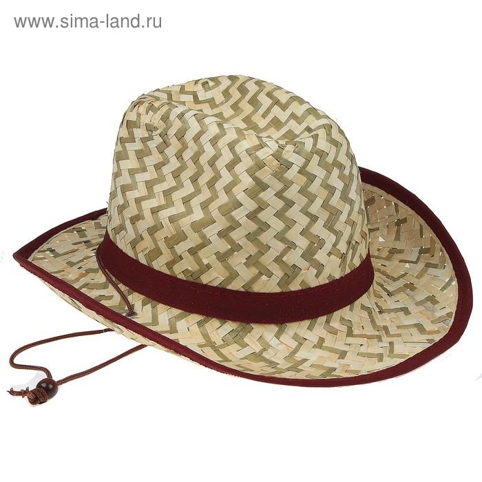 """Карнавальная шляпа """"Ковбой"""", цвета МИКС"""