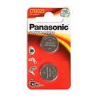 Батарейка литиевая Panasonic, CR2025-2BL, блистер, 2 шт