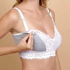 Топ Melissa для беременных и кормящих, цвет меланж, размер 42 - фото 105545321