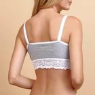 Топ Melissa для беременных и кормящих, цвет меланж, размер 42 - фото 105545322