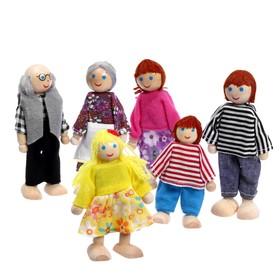 Игрушка 'Кукольные человечки', набор 6 шт. Ош