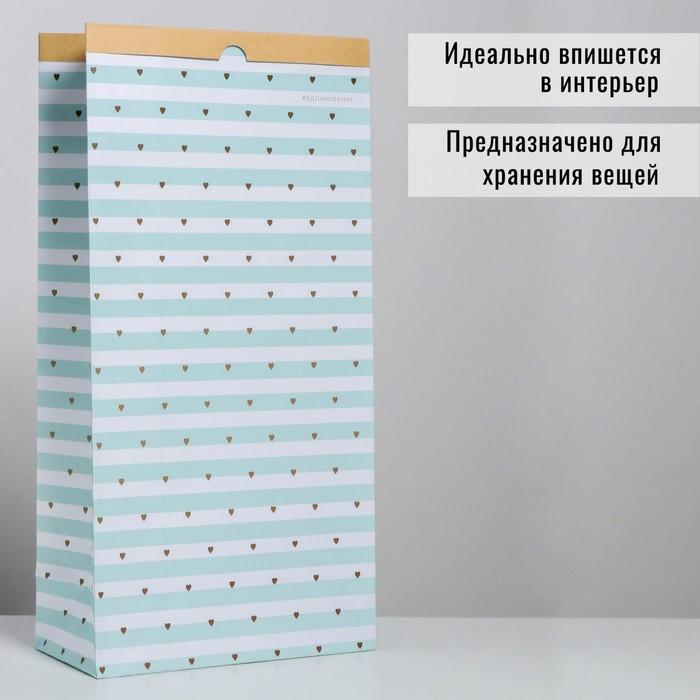 Пакет крафтовый «Вдохновение», 32 х 64 х 16 см