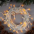 """Гирлянда """"Нить"""", 10 м, LED-100-220V, 8 режимов, свечение жёлтое"""