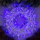 """Гирлянда """"Нить"""", 20 м, LED-200-220V, 8 режимов, свечение синее"""