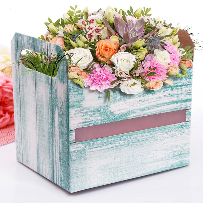 Коробка‒ящик «Вдохновение», 19,3 × 14,5 × 15 см