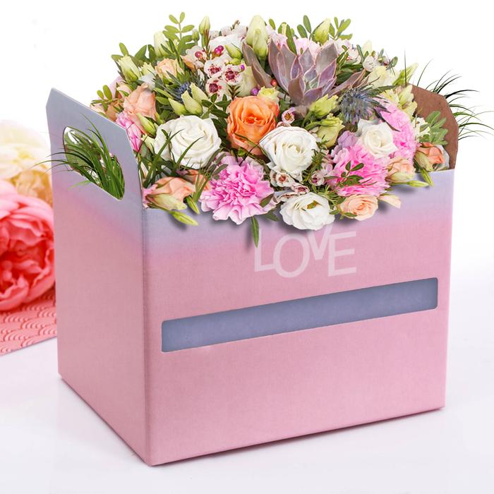 Коробка‒ящик Happy, 19,3 × 14,5 × 15 см