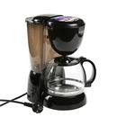 Кофеварка Scarlett SC-CM33007, капельная, 750 Вт, 1.25 л, черная