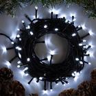 """Гирлянда """"Нить"""", 10 м, LED-100-220V, 8 режимов, свечение белое"""