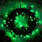 """Гирлянда """"Нить"""", 10 м, LED-100-220V, 8 режимов, свечение зелёное"""