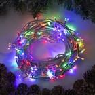 """Гирлянда """"Нить"""", 20 м, LED-200-220V, 8 режимов, свечение мульти"""
