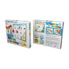 Игровой набор «Буквы и цифры», в картонной коробке