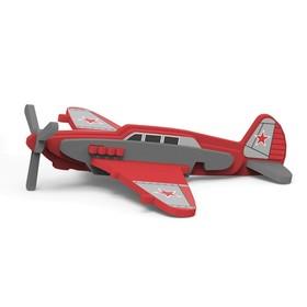 Игрушка из мягких элементов «Самолёт ЯК-7», сборная